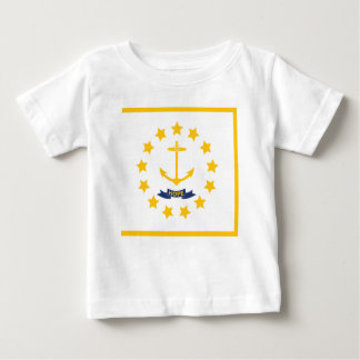 The flag of Rhode Island. Baby T-Shirt