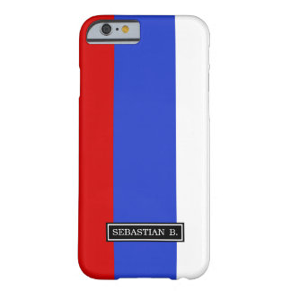 The Flag of Russian Barely There iPhone 6 Case