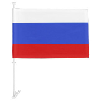 The Flag of Russian Car Flag