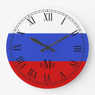 The Flag of Russian Clocks