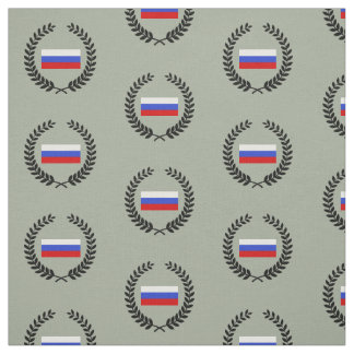 The Flag of Russian Fabric