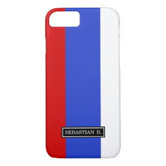 The Flag of Russian iPhone 7 Case