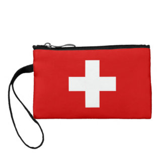 The Flag of Switzerland Coin Purse