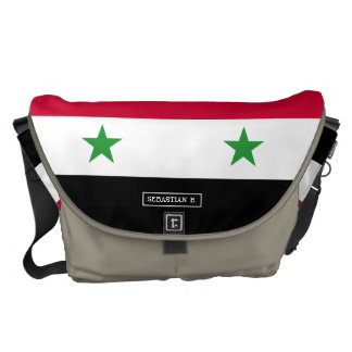 The Flag of Syria Commuter Bags