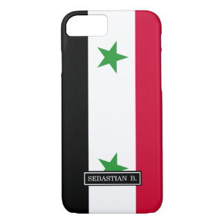The Flag of Syria iPhone 7 Case