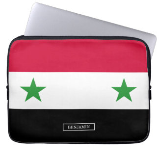 The Flag of Syria Laptop Sleeve