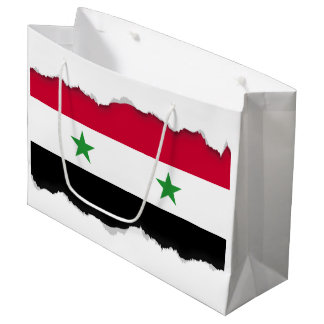 The Flag of Syria Large Gift Bag