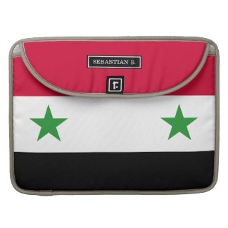 The Flag of Syria Sleeves For MacBooks