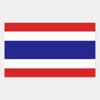 The Flag of Thailand Rectangular Sticker