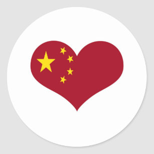 The flag of the People's Republic of China Classic Round Sticker