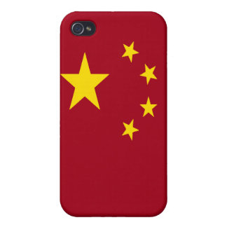 The flag of the People's Republic of China Cover For iPhone 4