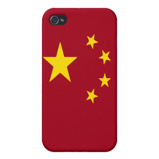 The flag of the People's Republic of China iPhone 4 Cover
