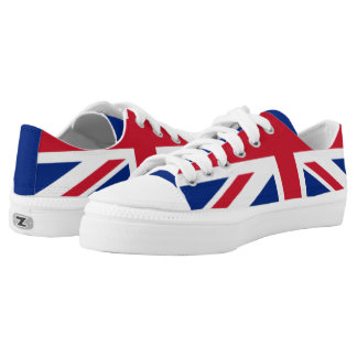 The Flag of the United Kingdom Low Tops
