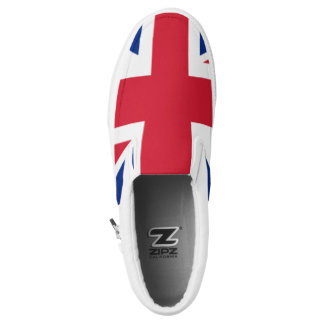 The Flag of the United Kingdom Slip-On Shoes