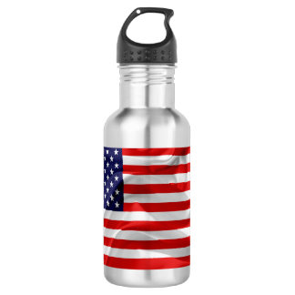 The Flag of the United States of America 532 Ml Water Bottle