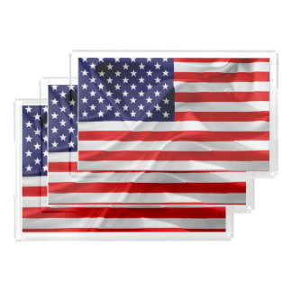 The Flag of the United States of America Acrylic Tray