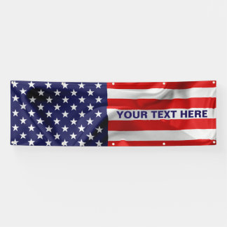 The Flag of the United States of America. Banner