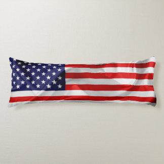 The Flag of the United States of America Body Cushion