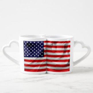 The Flag of the United States of America Coffee Mug Set