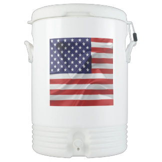 The Flag of the United States of America Cooler