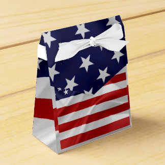 The Flag of the United States of America Favour Box