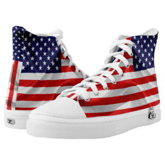 The Flag of the United States of America High Tops