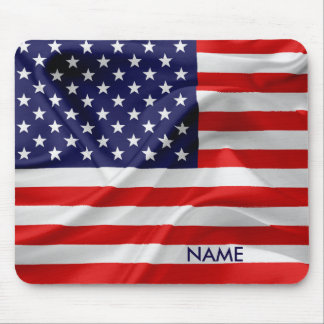 The Flag of the United States of America Mouse Pad