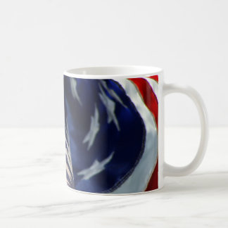 The flag of The United States of America Mug