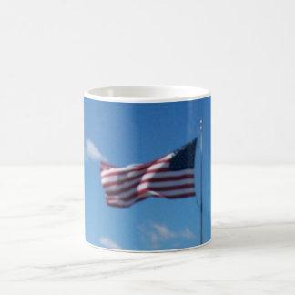 The Flag Of The United States Of America Classic White Coffee Mug