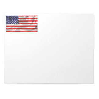 The Flag of the United States of America Notepad