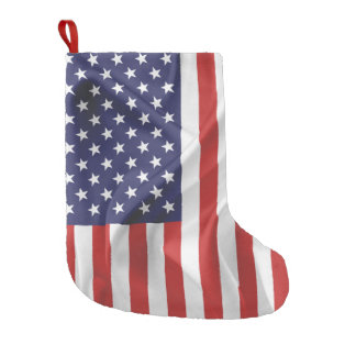 The Flag of the United States of America Small Christmas Stocking