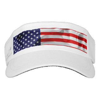 The Flag of the United States of America Visor