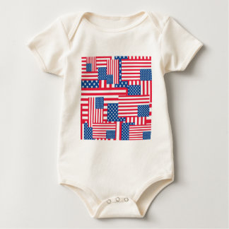 The Flags. Baby Bodysuit