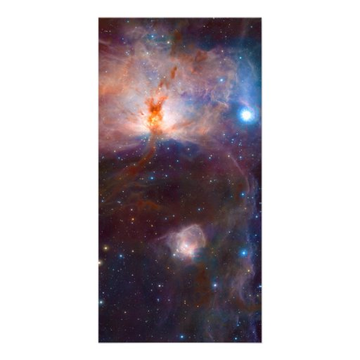 The Flame Nebula NGC 2024 Star Forming Region Customized Photo Card