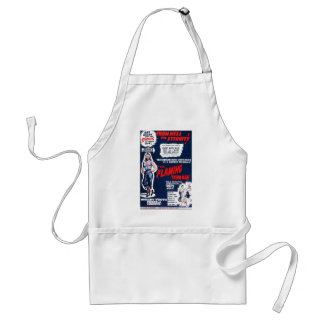The Flaming Teen-Age Standard Apron