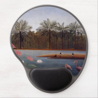 The Flamingos Gel Mouse Pad
