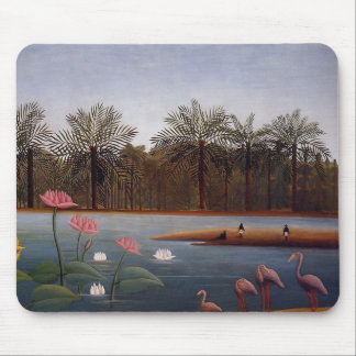 The Flamingos Mouse Pad