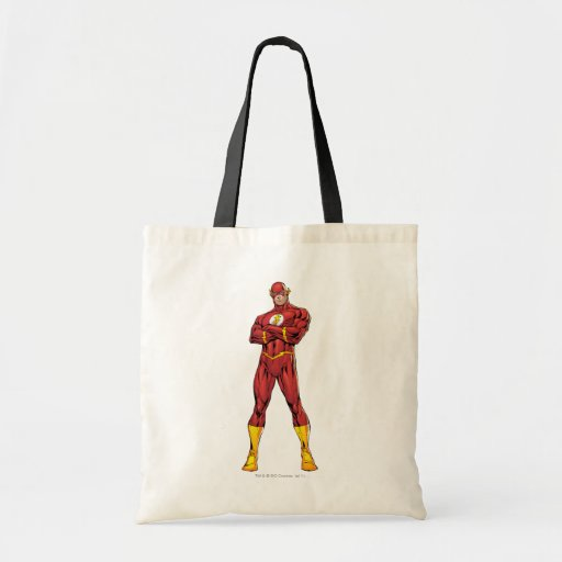 The Flash Arms Crossed Canvas Bag