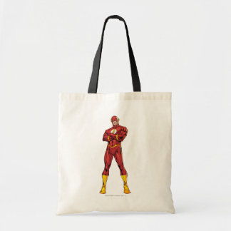 The Flash Arms Crossed Budget Tote Bag