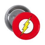 The Flash Lightning Bolt 6 Cm Round Badge
