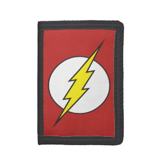 The Flash Lightning Bolt Trifold Wallet