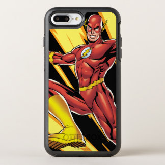 The Flash Lightning Bolts OtterBox Symmetry iPhone 7 Plus Case