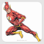 The Flash Lunging Stickers