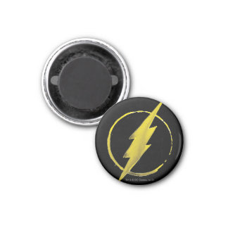The Flash | Yellow Chest Emblem 3 Cm Round Magnet