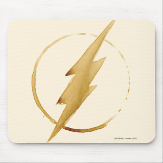 The Flash   Yellow Chest Emblem Mouse Pad