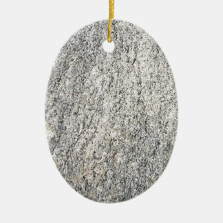 The flat surface of a gray granite stone ceramic ornament