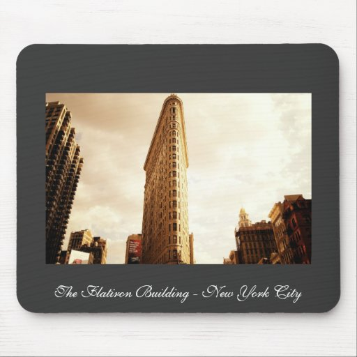 The Flatiron Building Mouse Pad