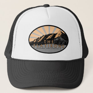 The Flatirons, Chautauqua Park, Boulder Colorado Trucker Hat