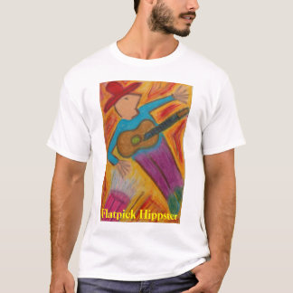 The Flatpick Hippster  T-Shirt