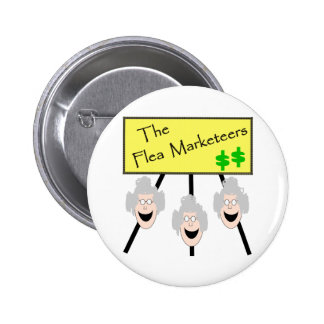 The Flea Marketeers Buttons